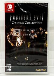 Resident Evil: Origins Collection Nintendo Switch Brand New Factory Sealed $29.99