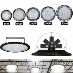 New 20x 50-500W LED High Bay Light Warehouse Fixture Factory Commercial Lighting $556.30