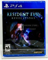 Resident Evil: Revelations PS4 Brand New Factory Sealed $21.99