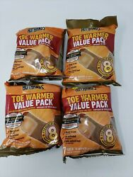 Lot of 4 Value Packs HotHands Toe Warmers 28 Pairs of Warmers - Exp: 2023 $19.95