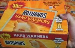 72 Hot Hands Handwarmers Warmers 36 Pairs Outdoor Camping FREE SHIP $23.99