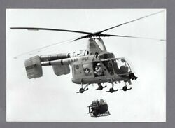 KAMAN HH 43F HUSKIE HELICOPTER LARGE VINTAGE PHOTO US AIR FORCE USAF RESCUE $39.95