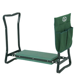 Green Spring Soft Eva Pad Seat Folding Garden Kneeler  Bench Kneeling $26.99