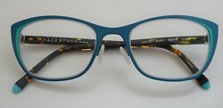 Discontinued Face a Face Joyce 1 9387 Blue Turquoise 49 18 135 w case $169.00