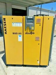 Kaeser BSD 60 Sigma Direct Drive 60hp Rotary Screw Air Compressor Ser 1148 $6,750.00