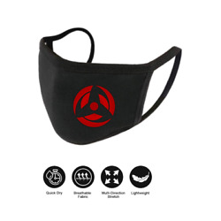 Naruto Face Mask 100% Cotton, Washable | Ships from USA $9.99