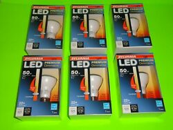 6 NEW Sylvania LED Light Bulb 7W=50W R20 Flood Dimmable Warm White Candlelight $21.98