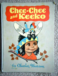 Nice Vintage Childrens Book. Chee-Chee and Keeko by Charles Thorson Autographed $85.00