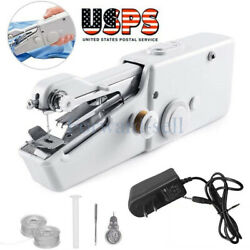 Mini Portable Smart Electric Tailor Stitch Hand-held Sewing Machine  Charger $6.99