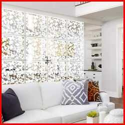Lchen Hanging Room Divider 12 PC Safety PVC Panel Screen Bird Flower For Living $51.50