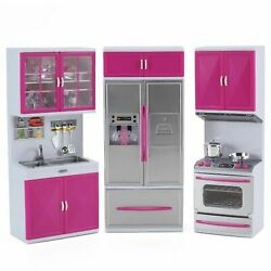 My Modern Kitchen Full Deluxe Kit Battery Operated Kitchen Playset: Refrigerator $34.95