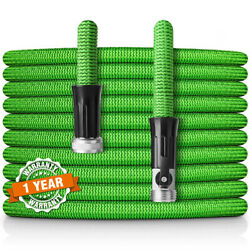 3X Stronger Deluxe Expandable Flexible Garden Water Hose With 34 Nickel Brass $28.79