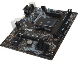 For MSI A320M PRO M2 Motherboard VGADVIHDMI AM4 AMD DDR4 32G Tested 100% ok $156.04