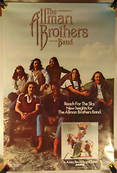 ALLMAN BROTHERS BAND Reach For The Sky Promo Poster $34.99
