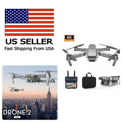 Drone E68 Quadcopter with CASE UPGRADED Edition Selfie 4K Camera WIFI Drone Pro $67.00