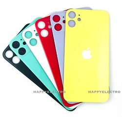 Replacement Glass Rear Back Door Battery Cover Big Hole For iPhone 11 12 Pro Max $10.99