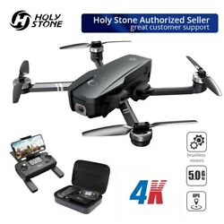 Holy stone HS720 brushless drone with 4K UHD camera GPS quadcopter 5G FPV + CASE $269.99