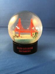 Golden Gate Bridge Snow Globe $19.95