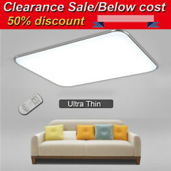 LED Ceiling Light Dimmable Ultra Thin Flush Mount Kitchen Lamp Home Fixture US $26.09