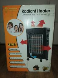 Radiant heater Convection plus 2 in 1 technology portable heater  $47.00
