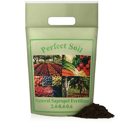 Perfect Soil Sapropel Organic Fertilizer for Vegetables and Plant Food $15.99
