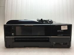 Epson Artisan 837 AIO Color InkJet Photo Printer wInk +Accessories AS-IS READ $99.99