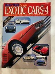 ©1986 Road & Track -  Exotic Cars: 4 - CBS Special $14.99