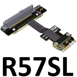 U.2 nvme ssd to M2 key a.e. SFF 8639 wifi pcie extension cable PCIe3.0x1 8G bps $31.39