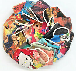 KIDS 100% Cotton Kid#x27;s face mask Reusable washable Thick Breathabe Cheap Price $5.90