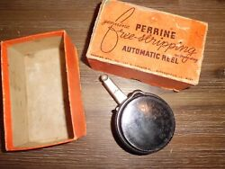 Vintage PERRINE Free Stripping 30 Automatic Fly Reel USA w Box $39.59