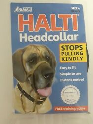 HALTI Headcollar size 4 Black Dog Collar Great Dane Rottweiler Company of Animal $18.50