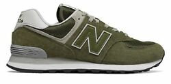 New Balance Men's 574 Shoes Green $36.65