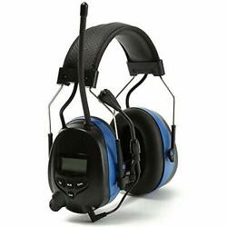 PROTEAR Digital Radio Ear Muffs Bluetooth AM FM Radio Headphones Ear Hearing ... $121.87