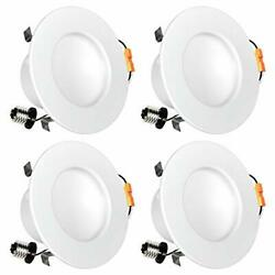 Luxrite 4 Inch Indirect LED Recessed Light 10W 60W Equivalent 2700K Warm Whit... $110.99