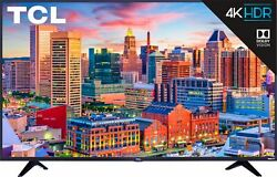 TCL 43S517 43quot; 5 Series 4K UHD Dolby Vision HDR Smart Roku TV $229.80