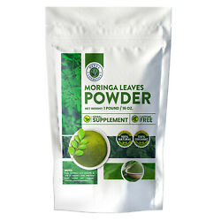 Moringa Leaves Powder Perfect for Smoothies 16 Ounces 1 Pound 100% Pure $10.98