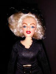Mego Legends Marilyn Monroe 8quot; Action Figure in Custom Black Outfit $17.99