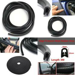 3M Long Rubber Seal Ring Strip Edge Protector Anti-Scratch U Type For Door Windo $20.37