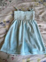 Juicy Couture terry cloth beach cover up sundress 2T $10.00