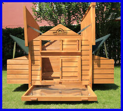 Pets Imperial® Savoy Large Deluxe Chicken Coop Hen Poultry House Rabbit Hutch $474.99