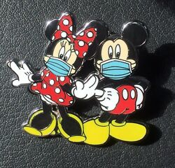 """Disney Pin Mickey Mouse Minnie Mouse Pin Mickey In Mask Fantasy Pin 1 3 4"""" $9.98"""