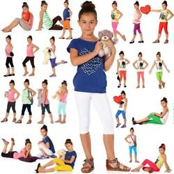 Children 34 Leggings IN 22 Colors Cotton Pants Capri Size 92 To 62 316in $3.78