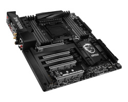 Motherboard For MSI X99A GODLIKE GAMING DDR4 128GB 2011 3 USB3.1 M.2 Tested $384.56