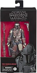 Star Wars The Black Series The Mandalorian Action Figure 6 Inch Scale 6quot; $29.99