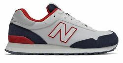 New Balance Men#x27;s 515 Shoes White with Black $41.85