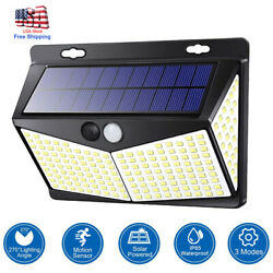 208 LED Solar Power Light PIR Motion Sensor Outdoor Lamp Wall Waterproof Garden $19.99