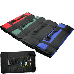 Tool Pocket Bags Roll Up Storage Organizer Bags Pouch Multi-function-Electrician $9.89