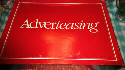 Adverteasing Vintage Board Game Complete Cadaco 1988 Slogans Jingles Commercials $12.75