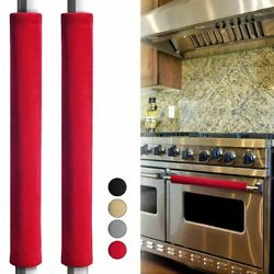 2pcs Refrigerator Handle Cover Smudges Door Oven Kitchen Appliance Handle Cover $6.99