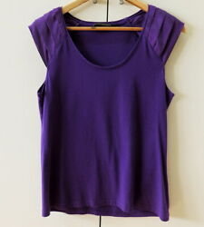 Pretty Purple Top from David Lawrence - Size M $17.41
